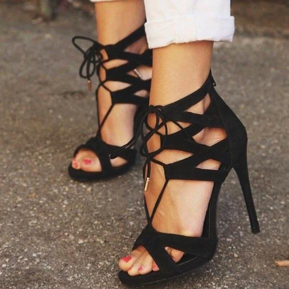 navegar por las últimas colecciones vista previa de comprar lo mejor Steve Madden Shoes | Nib Maiden Black Suede Heels | Poshmark
